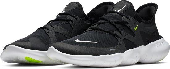 Nike Free Rn 5.0 Sportschoenen Heren BlackWhite Anthracite Volt