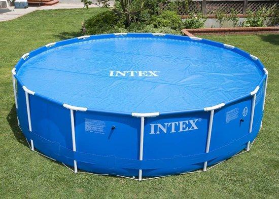 Intex zwembad afdekzeil solar 305 cm for Afdekzeil zwembad blokker