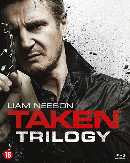 DVD cover van Taken Trilogy (Blu-ray)