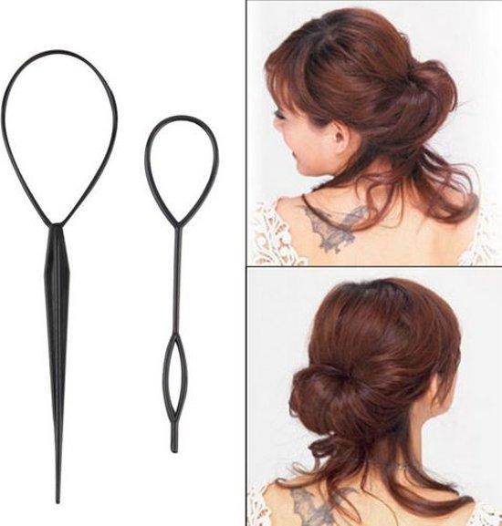Haar style hulpstuk - Styling tool haarclip Lus invlechten