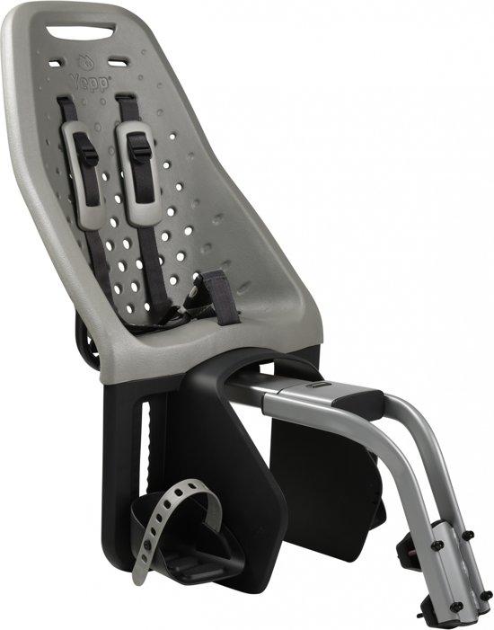 Gmg Yepp Maxi - Fietsstoeltje Achter - Zadelbuis - Zilver