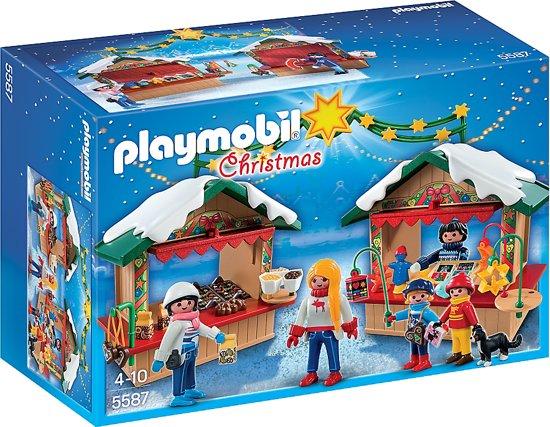PLAYMOBIL Christmas De Kerstmarkt - 5587