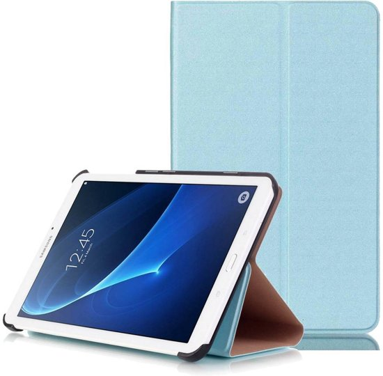 GSMWise - Samsung Galaxy Tab A 7.0 Hoesje - Handige Luxe Book Cover Stand Case - Aqua Blauw / Hemelsblauw