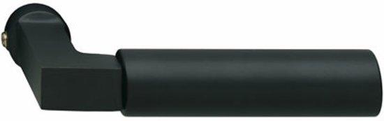 Intersteel Deurkruk - Bau-stil - mat zwart - 0023.037800