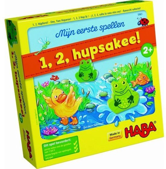 Spel - Mijn eerste spel - 1, 2, hupsakee! (Nederlands) = Duits 5877 - Frans 5960