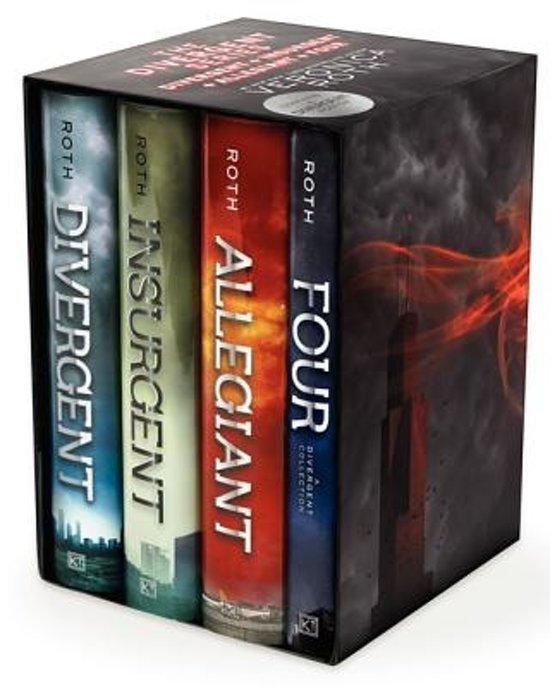 Divergent Trilogy boxset (1-3 and Four: A Divergent Collection)