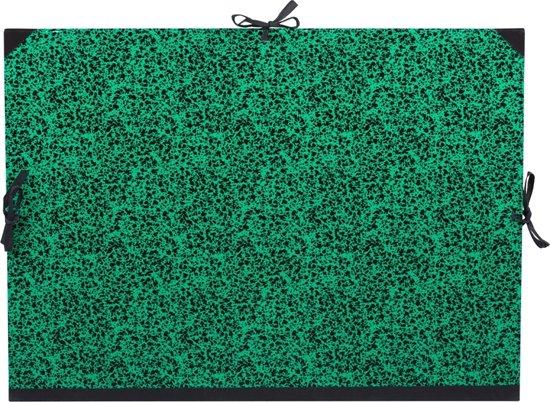 Canson - Tekenmap met vetersluiting - Groen - 61x81cm