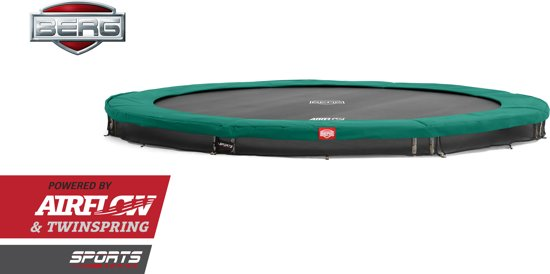 BERG InGround Champion Green 270 (9ft) - Trampoline