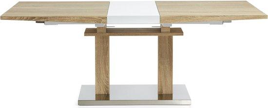 Design Eettafel Uitschuifbaar.Bol Com Laforma Kalin Uitschuifbare Tafel 160 200 Cm X
