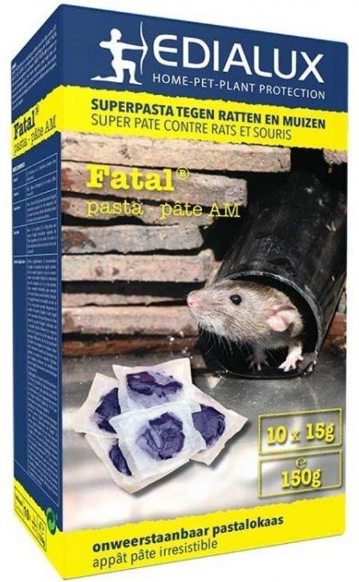 Fatal Pasta muizen- en rattengif 150gr
