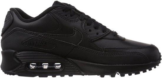 nike leather sneakers heren