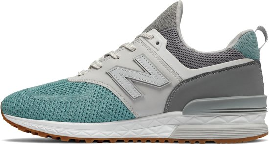 wit 44 5 blauw Mannen Sportsneakers New Grijs Balance 574 Maat qZxZPw