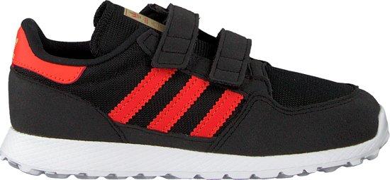 adidas Jongens Sneakers Forest Grove Cf I Zwart Maat 25