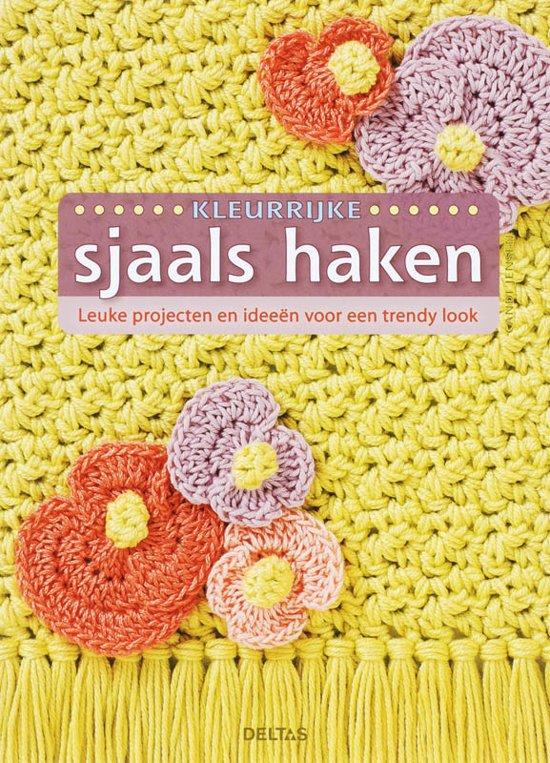 Bolcom Kleurrijke Sjaals Haken Candi Jensen 9789044715781 Boeken