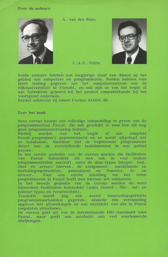 Cursus Pascal Ebook Sluis Pdf Nwatunrafca