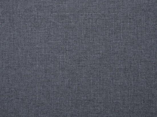 Beliani Otra 2-Zits bank Grijs polyester