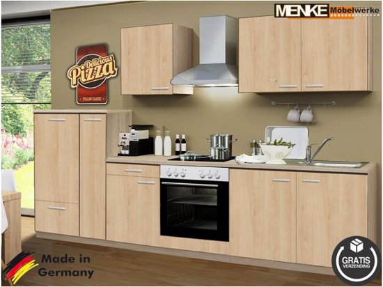 Keukenkasten Met Apparatuur : Bol.com menke® keuken oslo compleet incl. apparatuur 300 cm.