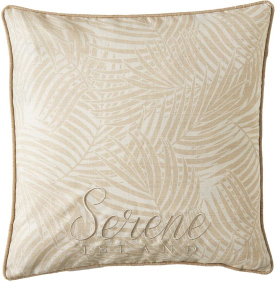 Marvelous Riviera Maison Serene Island Palm Leaf Pillow Cover Kussenhoes 50X50 Cm Ocoug Best Dining Table And Chair Ideas Images Ocougorg