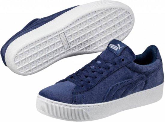 Puma Vikky platform VR blauw sneakers dames Maat 38