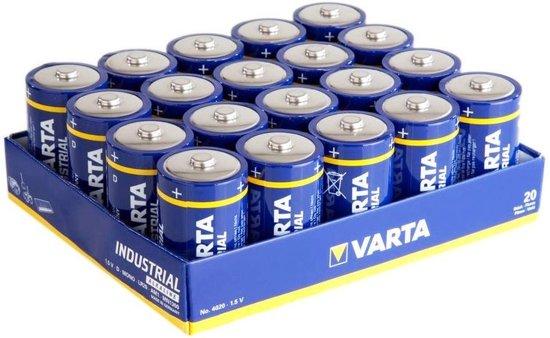 Doos 20 x Varta industrial D LR20 batterij