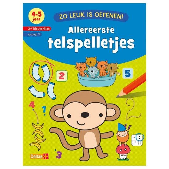 Boek cover Zo leuk is oefenen! - Allereerste telspelletjes (4-5 j.) van ZNU (Onbekend)