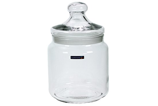 Luminarc - Club snoeppot - glas 1.5 liter Valentinaa