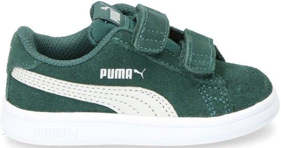 ceea0fcbb48 PUMA Smash V2 Sd V Inf Sneakers Kinderen Ponderosa Pine / Gray Violet / Puma  White