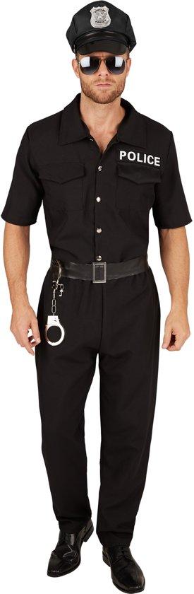 dressforfun 301435 Politieagent voor heren mannen M verkleedkleding kostuum halloween verkleden feestkleding carnavalskleding carnaval feestkledij partykleding