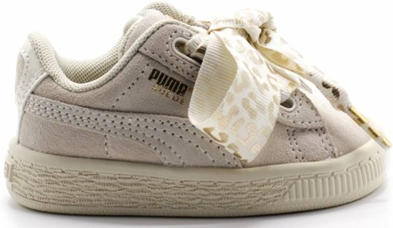 b75f5f757d5 Suede Heart AthLuxe Inf / Whisper White-Puma Team Gold - maat 27