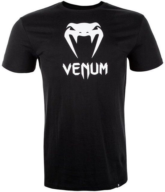Venum Classic T-Shirt Zwart met wit-M