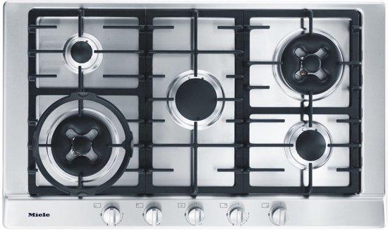 Miele KM 2054 G - Zilver - Kookplaat