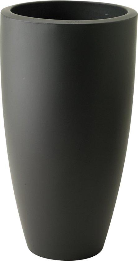 elho pure soft round high bloempot 30 cm - Antraciet