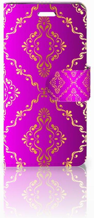 Acer Liquid Z330 Uniek Boekhoesje Barok Roze
