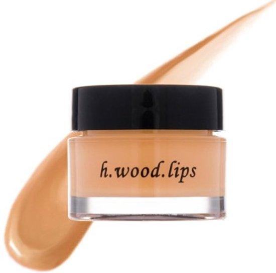 H. Wood Beauty Lip Shine Pot Sheer