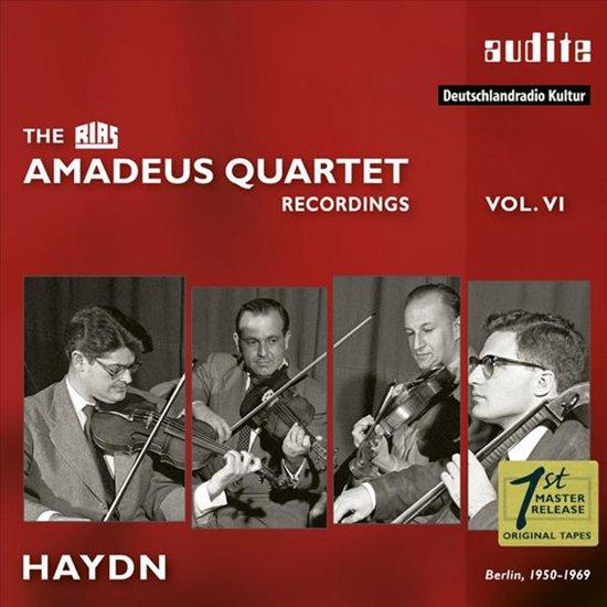 Amadeus-Quartett;Rias Recordings Vol.Vi