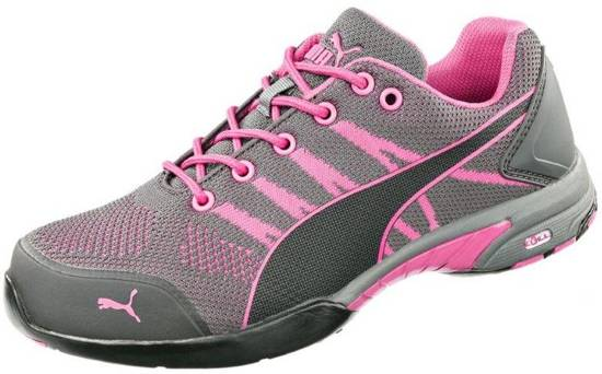 Leuke Dames Werkschoenen.Bol Com Puma Werkschoenen Celerity Knit Pink Wns S1 41