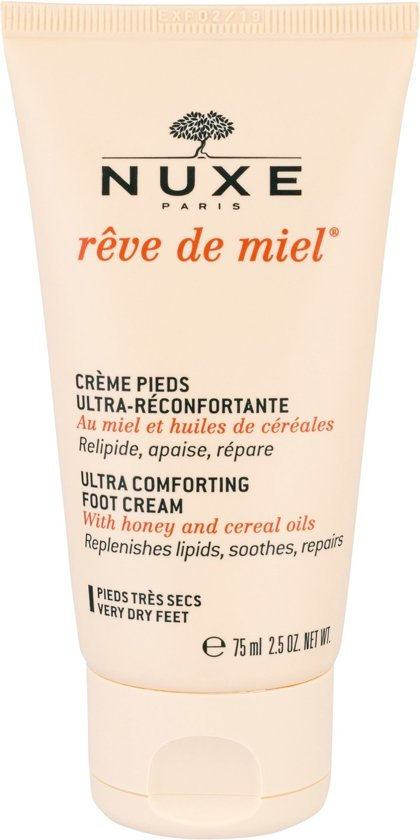 Nuxe reve de miel foot cream - 75ml