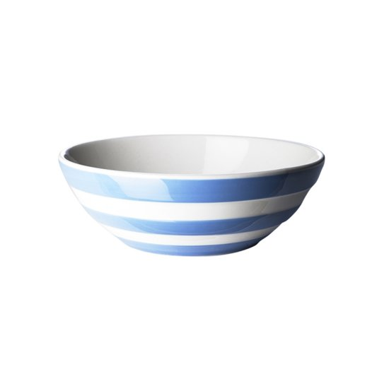 Cornishware Blue Cereal Bowls kom 17 cm (set van 4)