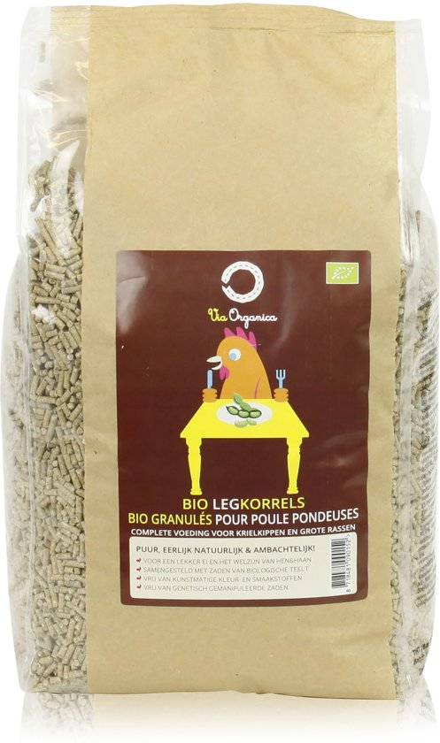 Via Organica Biologische Legkorrel - 4 kg