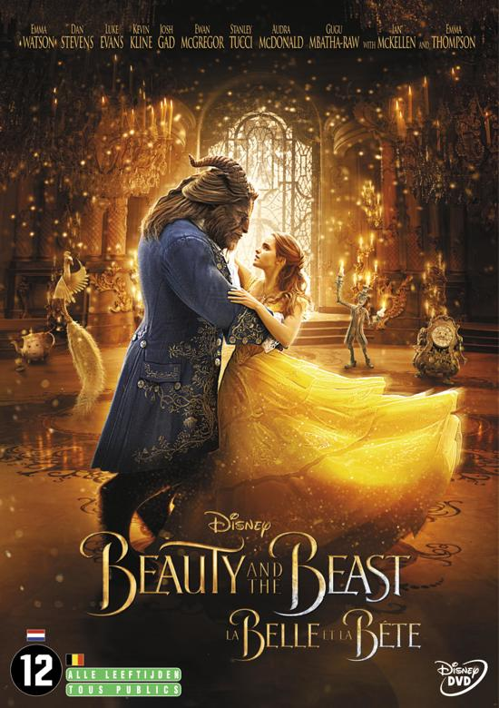 DVD cover van Beauty And The Beast