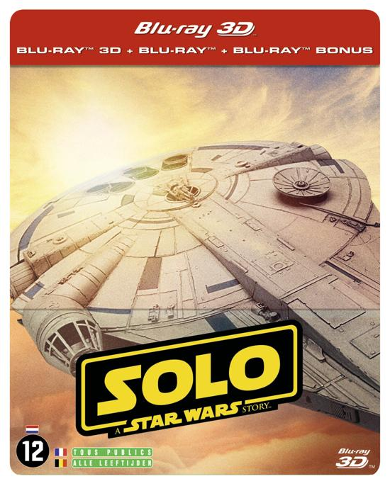 DVD cover van Solo: A Star Wars Story (3D+2D Blu-ray) (LTD) (Steelbook) (Uitverkocht)
