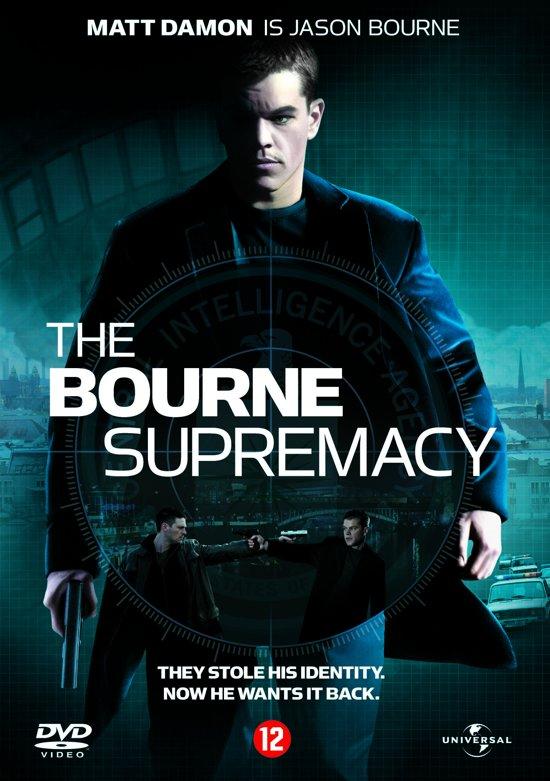 DVD cover van BOURNE SUPREMACY (D)