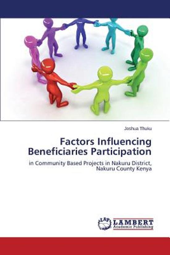 Factors Influencing Beneficiaries Participation