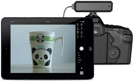 CamFi Draadloze Camera Bediening voor DSLR Camera's