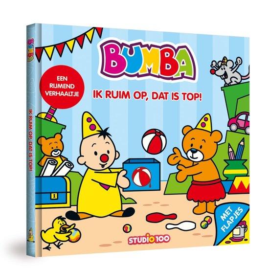 Boek cover Bumba - Ik ruim op, dat is top! van Jan Maillard (Onbekend)