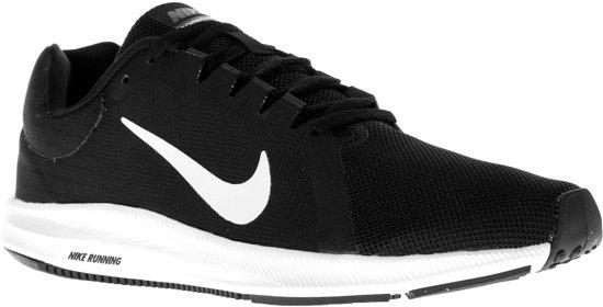 Nike Downshifter 8 Hardloopschoenen - Maat 40.5 - Vrouwen - zwart/wit