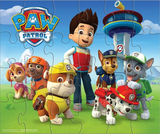 PAW Patrol - 3 Pack Games Bundle