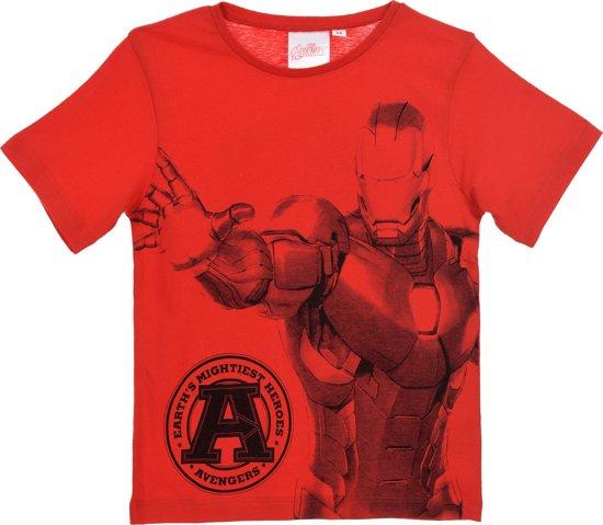 The Avengers Iron man t-shirt maat 122/128