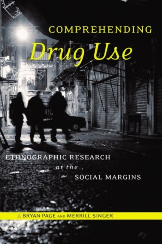 Boek cover Comprehending Drug Use van J. Bryan Page (Paperback)