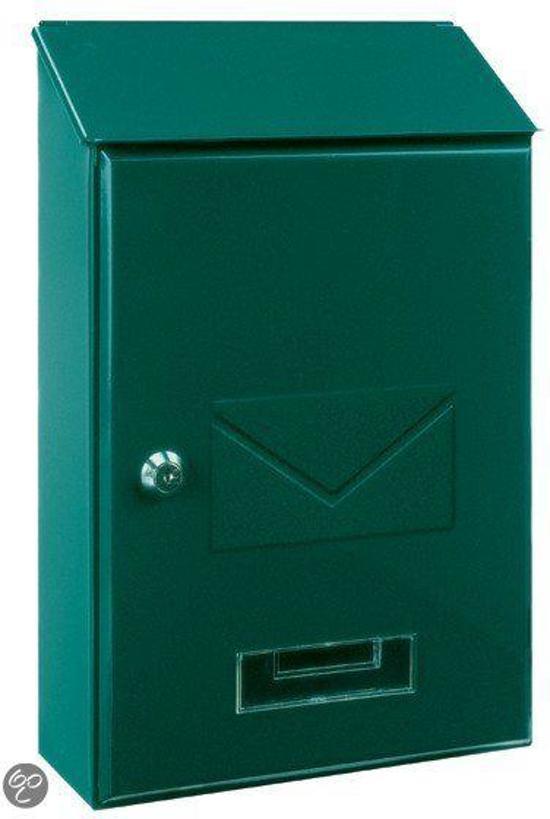 Rottner Tresor Brievenbus PISA (Groen) Stalen (mini) brievenbus